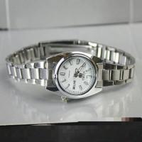 jam tangan daydate seiko wanita / jtr 1055 putih