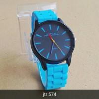 jam tangan marc jacobs wanita / jtr 574 biru