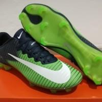 Sepatu Bola - Soccer Nike Mercurial Vapor XI CR7 Green Navy - FG