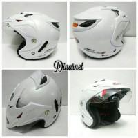 Bagus nyaman Helm Centro Hybrid Double Visor Standar SNI Bukan Ink SNI