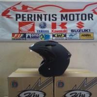 Bagus nyaman Helm Hiu ARROW Double Visor Half Face Helmet SNI Asli
