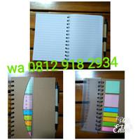 Buku agenda/Memo dan notepad custom/cetak
