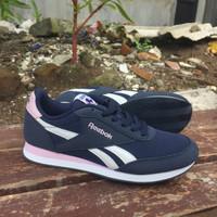Sepatu Original Reebok Royal CL Jog 2 Sea Women