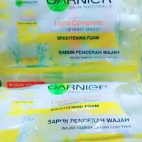 Sabun Wajah Garnier Light Complete Sachet