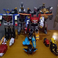 Dx Goseiger Complete Set Gosei Great Power Rangers Mega Force Megazord