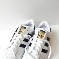 Sepatu SEPATU MURAH ADIDAS SUPERSTAR BLACK WHITE Adidas