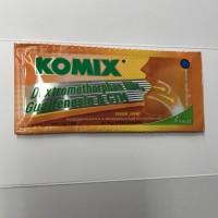 Komix Sachet Jahe 7ml / Obat Batuk Sirup 7 ml / Dus Grosir Sakit Pcs