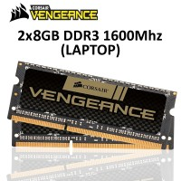 Corsair SO-DIMM DDR3 16GB 2x8GB PC12800 - CMSX16GX3M2A1600C10
