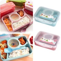 Yooyee Lunch Box Kotak Makan Sup 4/5 Sekat Bento Set