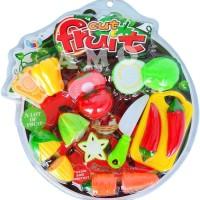 CUT FRUIT - MAINAN EDUKASI BUAH POTONG