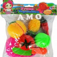 FRUIT AND VEGETABLE KANTONG MAINAN BUAH POTONG