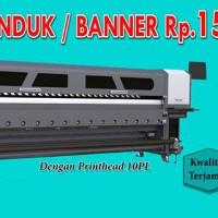 Printing Bahan flexy 280gr buat banner Spanduk
