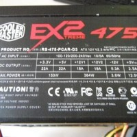 Power Supply (PSU) Cooler Master 475W pure gaming 2nd bagus