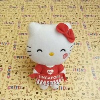 Boneka Hello Kitty Mcd SG50 Parade