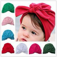 Turban pita tali ikat polos bayi baby anak balita jilbab