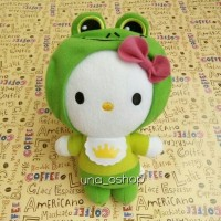 Boneka Hello Kitty The Frog Prince