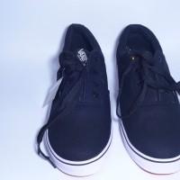 Sepatu Vans hitam putih KW