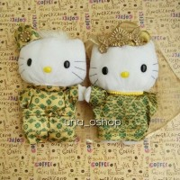 Boneka Hello Kitty Couple Malay Wedding