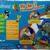 Tempat Tidur Mainan Bayi Sugar Baby Bouncer 10-in-1 Premium Rocker
