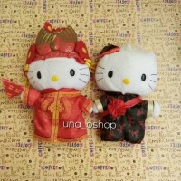 Boneka Hello Kitty Couple Wedding