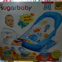Sugar Baby Duluxe Baby Bather Blue / Tempat Mandi Bayi