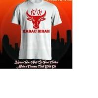 kaos/baju/t-shirt kabau sirah semen padang