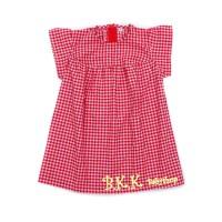 Ruffle Dress Bayi Baju Anak Perempuan RED NO TAPE