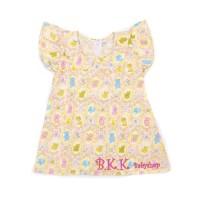 Ruffle Dress Baju Bayi Anak Perempuan DOLL PINK
