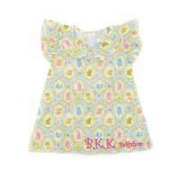 Ruffle Dress Baju Bayi Anak Perempuan DOLL GREEN