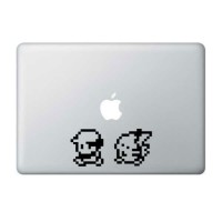Decal Sticker Macbook Apple Macbook Stiker Pokemon Ash Pikachu Laptop