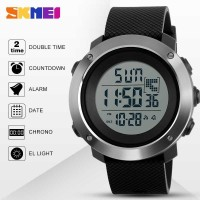 Jam tangan Original SKMEI DG 1267 Original Suunto BLACK