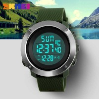 Jam tangan Original SKMEI DG 1267 Original Suunto Green