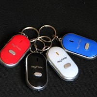 Gantungan Kunci Siul Anti Hilang Lupa Key Finder Keychain Senter LED