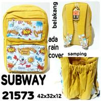 Tas ransel backpack subway 21573 tas punggung terbaru dan termurah