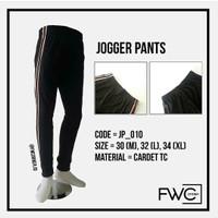 Celana Jogger Side Stripe / Celana Training / Trackpants / Sweatpants