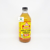 BRAGG Apple Cider Vinegar ( Cuka Apel) 16 oz 473 ml