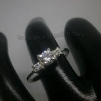Cincin Wanita-Simple Elegan-Perak 925 (seri RL010A)