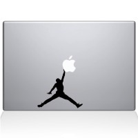 Decal Sticker Macbook Apple Macbook Stiker Air Jordan BasketBall