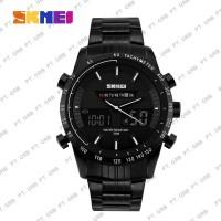 Jam Tangan Pria Digital SKMEI 1131 Black White Water Resistant 30M