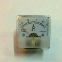 (Diskon) panel amper meter/amper meter analog OB-45