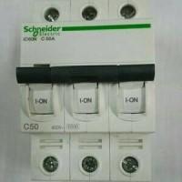 (Sale) schneider mcb IC60N 3phase 50A/MCB IC60N 6ka schneider