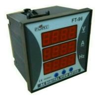 digital multi meter/ac digital multi meter/digital panel meter V,A,HZ