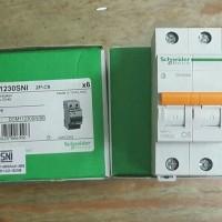 (Diskon) schneider DOMAE MCB 2pole 6A/mcb domae 4,5ka schneider