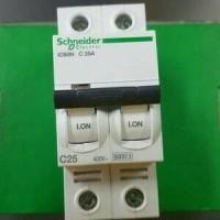 (Sale) mcb IC60N 2phase 25A 6ka schneider