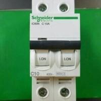 (Sale) mcb IC60N 2 phase 10A schneider