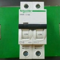 (Dijamin) mcb IC60N 2 phase 16A schneider