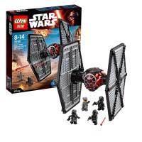 Star Wars First Order Tie Fighter Black Lego kw 75101 Lepin 05005