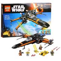 Star Wars Poe Dameron BB8 X Wing Black Hitam Lego kw 75102 Lepin 05004