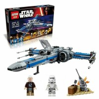 Star Wars Resistance Poe BB8 X Wing Blue Lego kw 75149 Lepin 05029