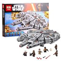 Star Wars Han Solo Millennium Falcon Lego bootleg 75105 Lepin 05007
